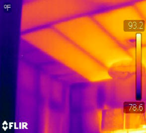 Thermal scan of insulation
